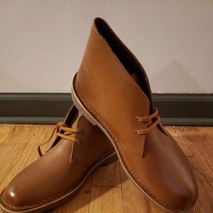 Clarks men's bushacre tan boots - brand new